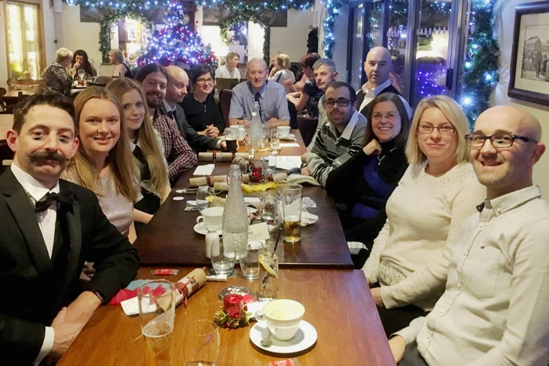 <p>Satori Christmas Dinner. Peacock at Barlow, December 2018.</p>