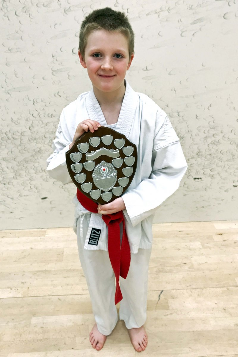 <p>Edward O'Hara, Young Student of the Year 2019</p>