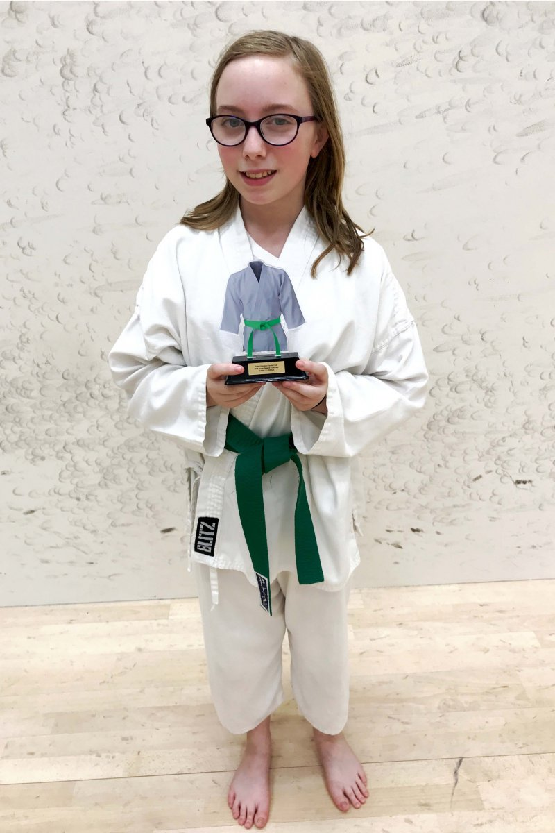 <p>Isabelle Breeze, Outgoing Young Student of the Year 2018</p>