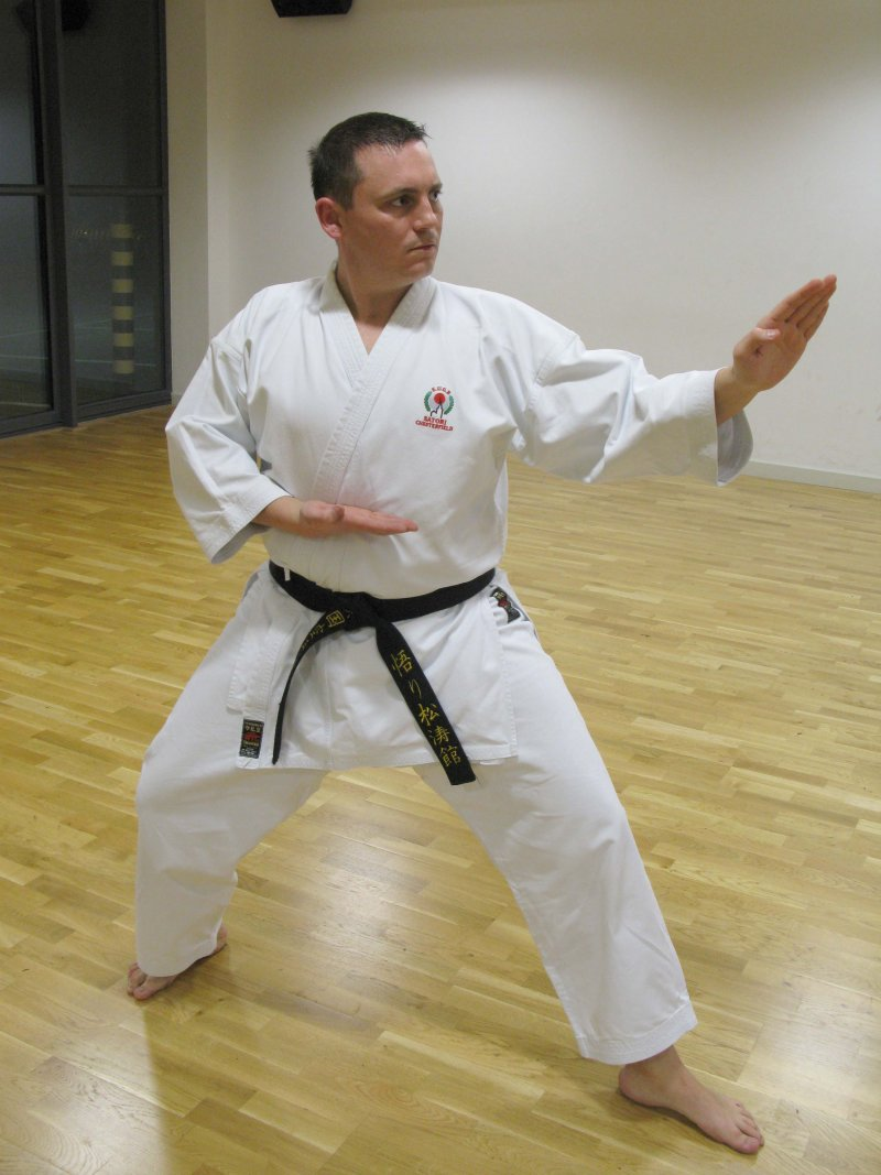 <p>Stephen Slone 2nd Dan (Nidan).</p>