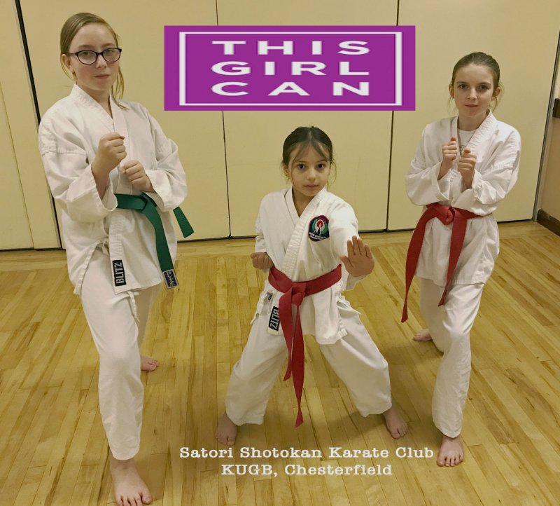 <p>This Girl Can - Isabelle Breeze 6th Kyu, Hany Mohammed 8th Kyu, Mia Donaldson 8th Kyu.</p>