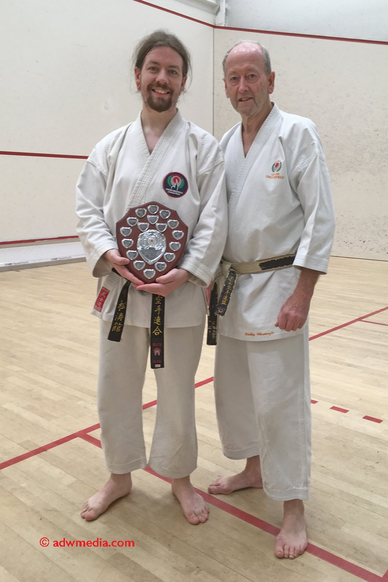 <p>2018 Student of the Year. Jordan Griffin, 1st Dan.</p>