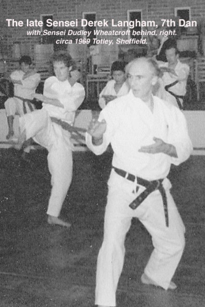 <p>Sensei Derek Langham at Satori Shotokan</p>